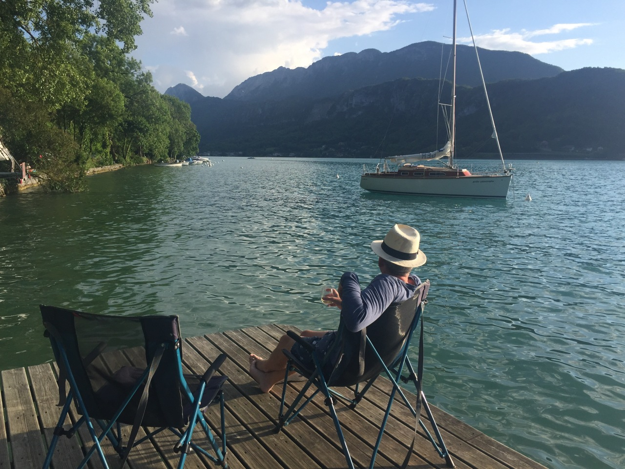 Messing about on the water…Annecy