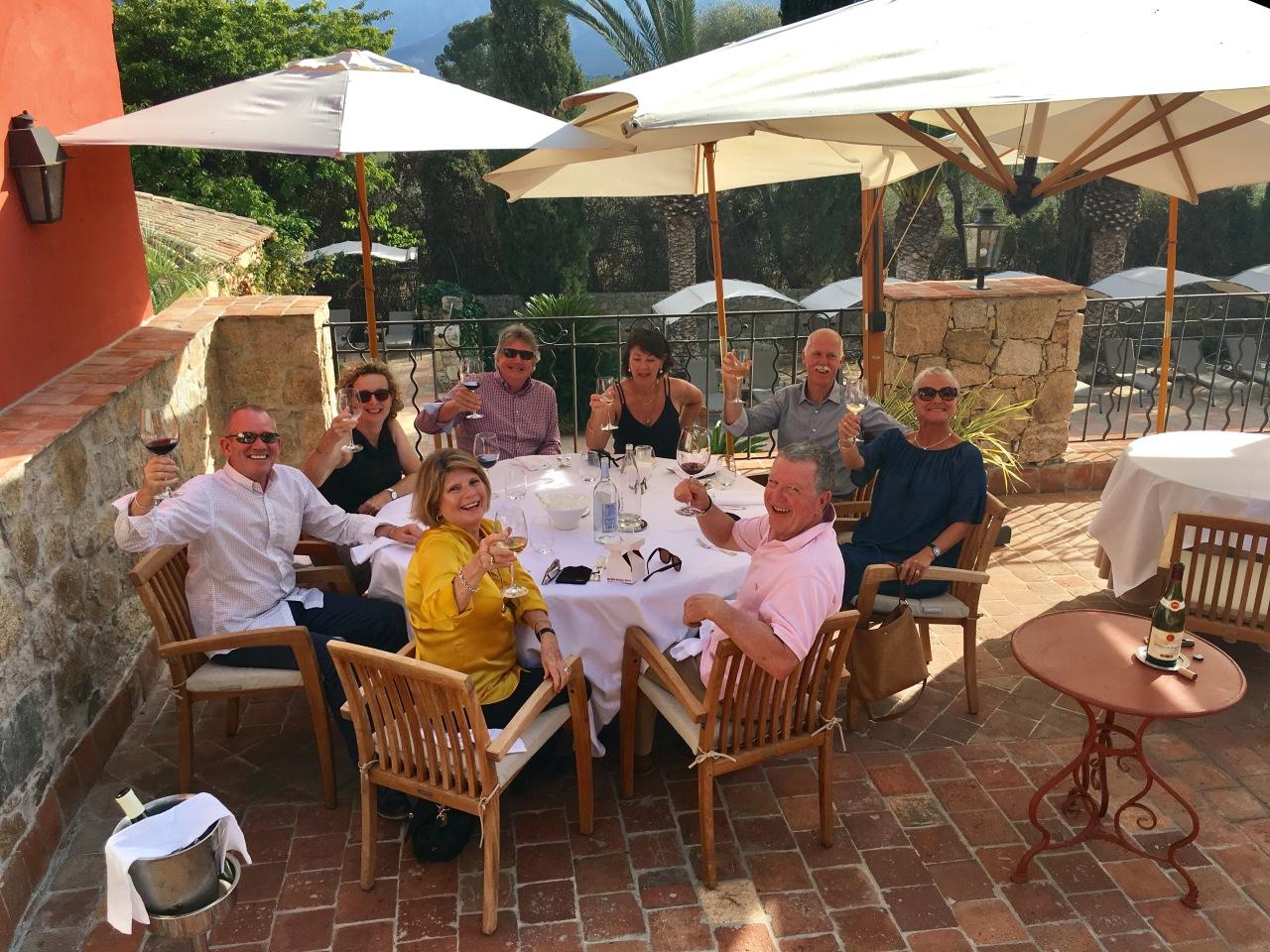 Celebration's in Corsica